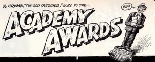 ROBERT CRUMB AcademyAward