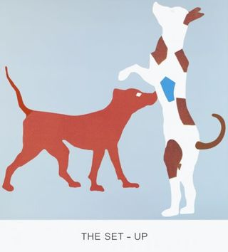 Baldessari. Moscu.the set-up