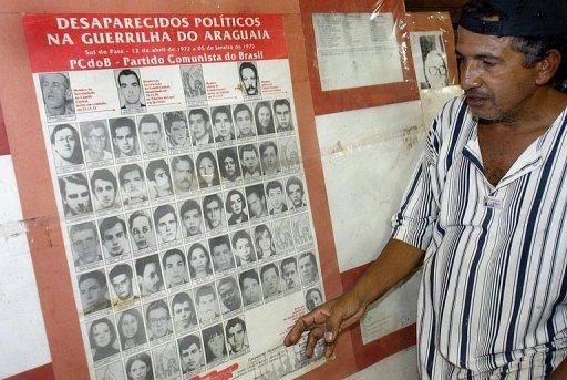 Desaparecidos politicos en la dictadura de Brasil