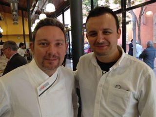Albert Adrià y Olivier Fernández