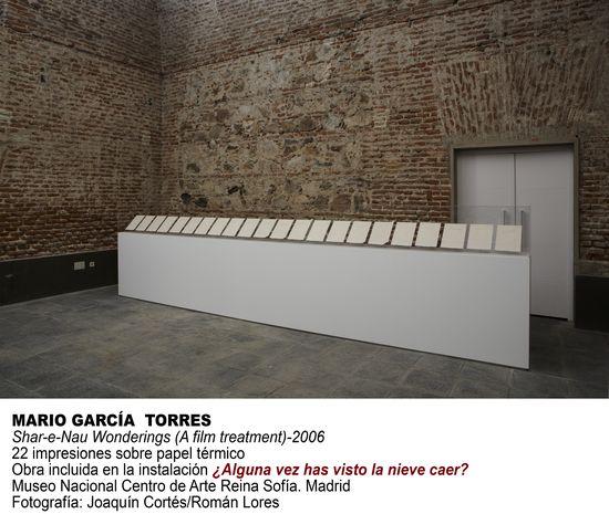 Mario García Torres Reina Sofía