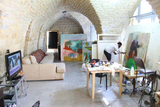 Una imagen del 'Art Residence Aley' en Líbano