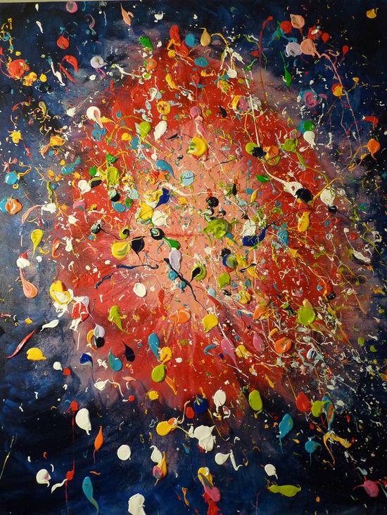 Explosión de vida. Obra de Ana Calderón