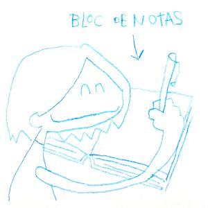 Bloc de notas. Del blog Los Viajes del Cangrejo