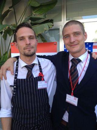 Los ganadores, los gemelos Jonathan y Alexander Kjolhede