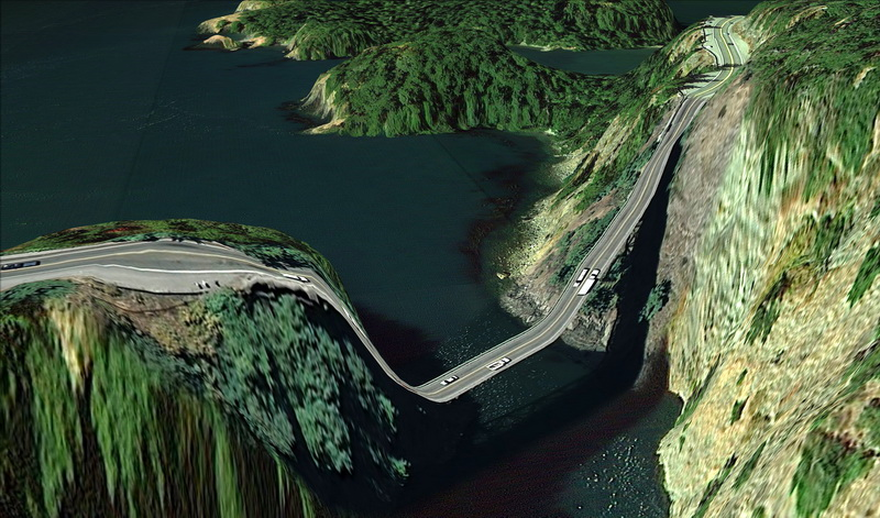 Postcards from Google Earth de Clement Valla