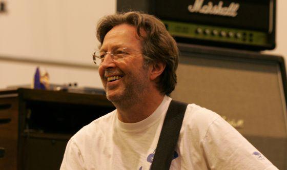 Eric Clapton Retrato