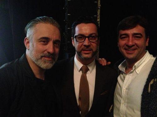 Sergi Arola, Quique Dacosta y Fernando del Cerro