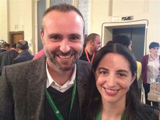 Rodrigo de la Calle y Elena Arzak