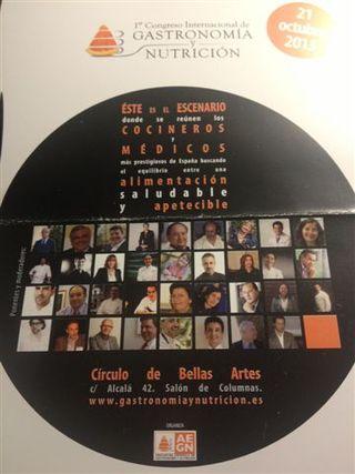 Programa del I Congreso de Gastronomía y Nutrición