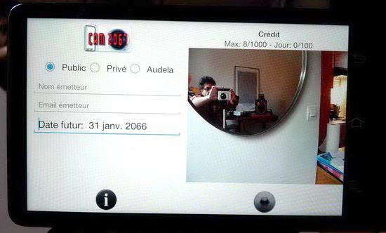Camera 2067 de David Guez detalle