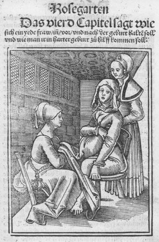 394px-Eucharius_Rößlin_Rosgarten_Childbirth