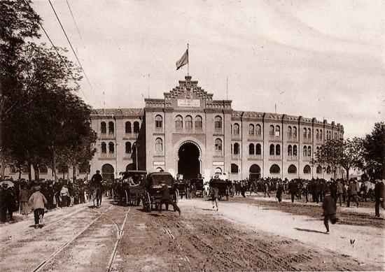 Calle felipe II 1890 antigua plaza madrid