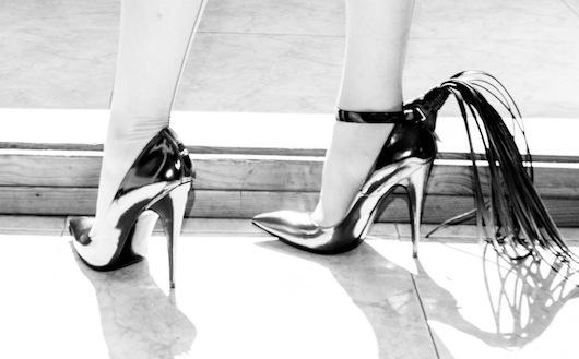 Venus O'Hara by Yuky Lutz weraing Ainsley T Shoes