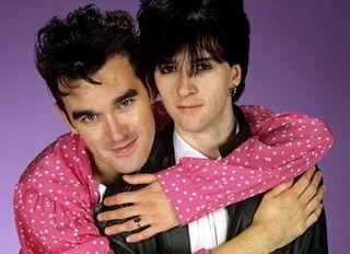 Morrissey con Johnny Marr