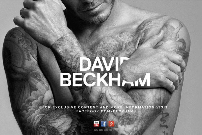 Home web David Beckham