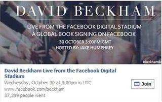 Asistencia estadio digital David Beckham