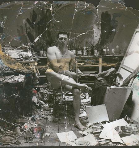 Francis Bacon al seu estudi