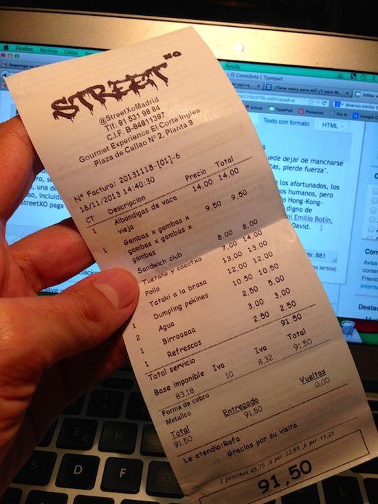 Streetxo ticket