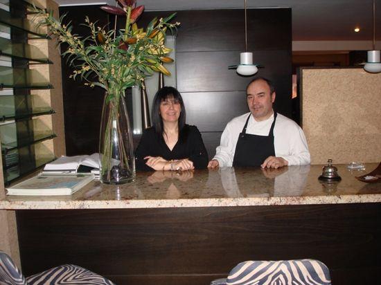 Ángela Ribes y Miguel Barreda, de Cal Paradís