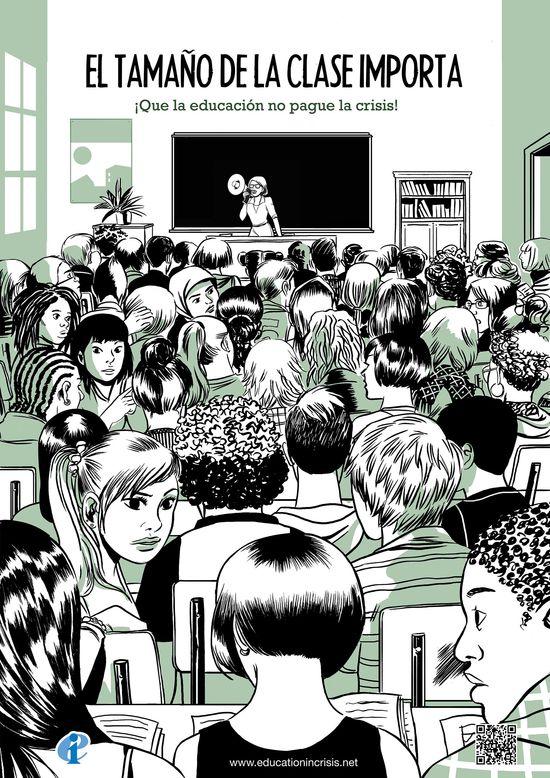 Saturación en las aulas. Educationincrisis.net
