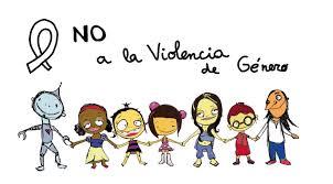 Cartel contra la violencia de género