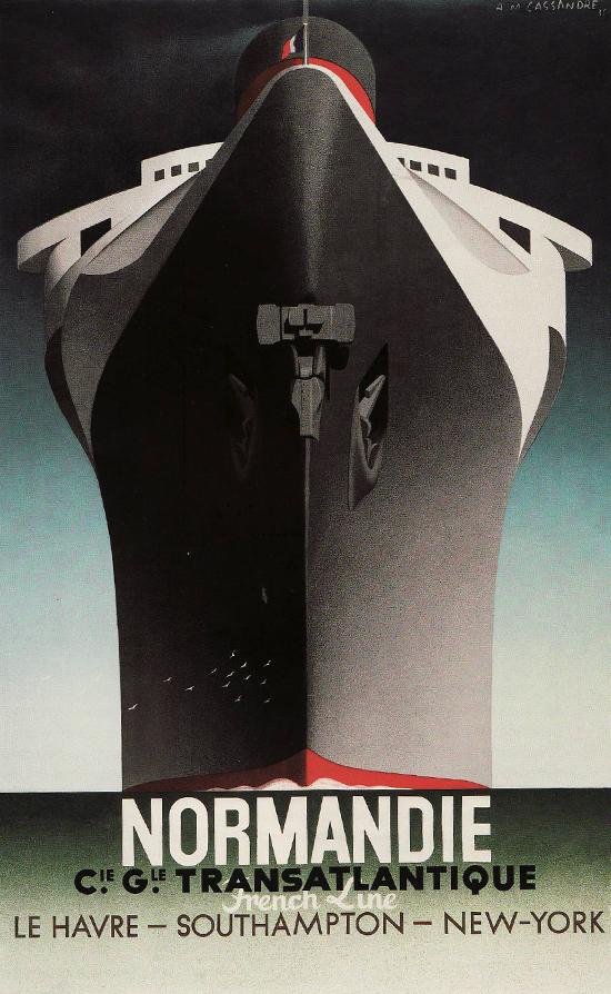 Cassandre-normandie-1935