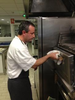 Vigilando el horno