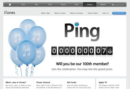 Ping contador