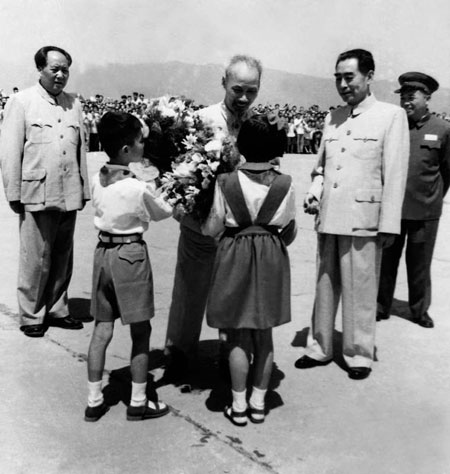 Mao y Ho Chi Minh