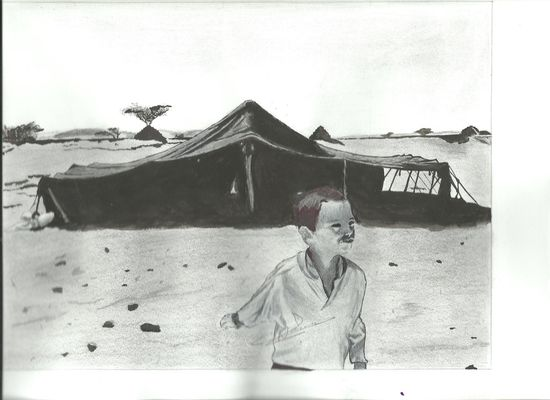 El niño y la jaima_Nanna Bachir