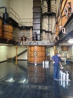 Sala de destilación