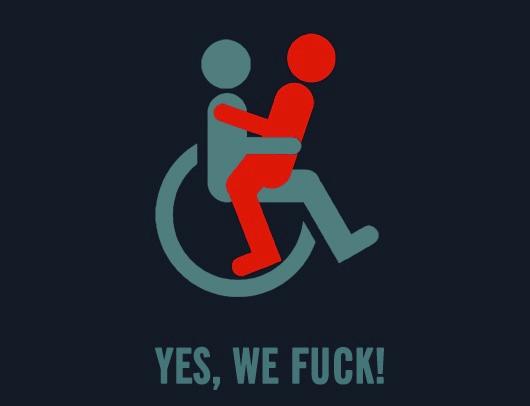 Yes, we fuck logo