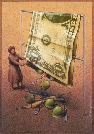 Más intereses pero no más dinero que financie armas o guerras. Pawel Kuczynski