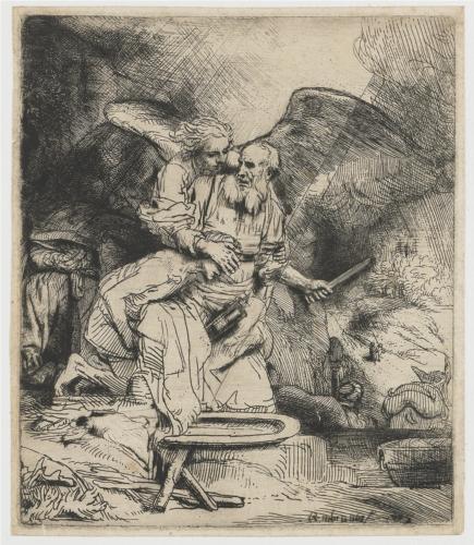 Rembrandt Abrahams