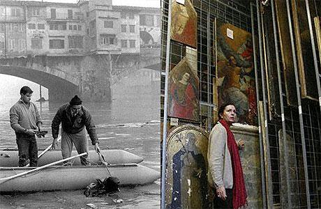 Florencia inundación