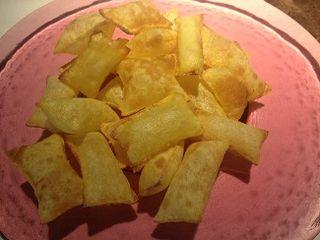 Patatas suflés, que aspiran a convertirse en una especialidad de The Hall