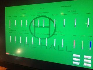Todos los aspectos ambientales de cada zona de la sala se controlan por ordenador