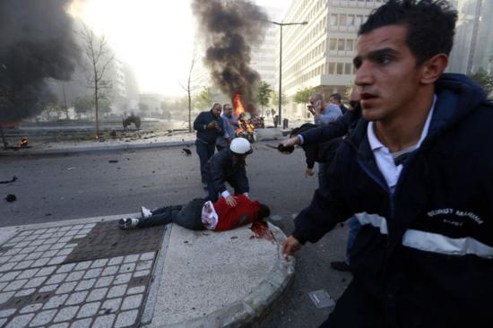 Atentado en Beirut / Foto: JAMAL SAIDI (REUTERS)