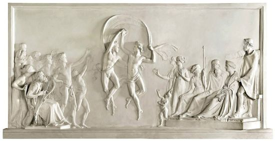 Canova.relieve.bailarines