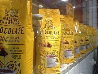 Chocolate para llevar. En Maestro Churrero, un modelo de mercadotecnia en el gremio