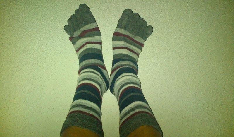 Calcetines de rayas