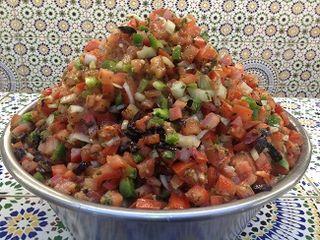 Picadillo de verduras marroquí