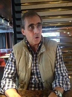 El empresario hostelero Benjamin Calles, promotor del restaurante The Hall
