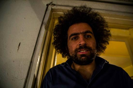 El activista egipcio Tarek Shalaby
