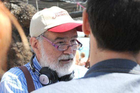 Gonzalo García Pelayo, rodando ALEGRIAS DE CÁDIZ