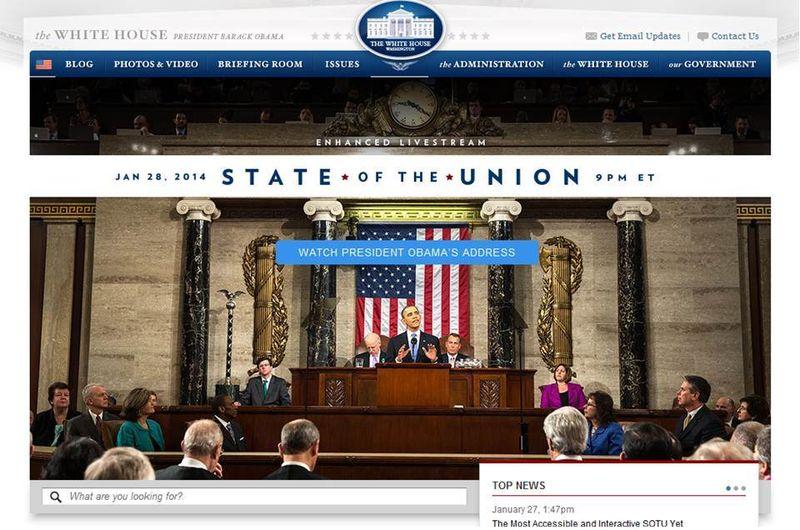 White house obama estado de la union promo
