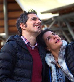 Elodie y Miguel Ángel