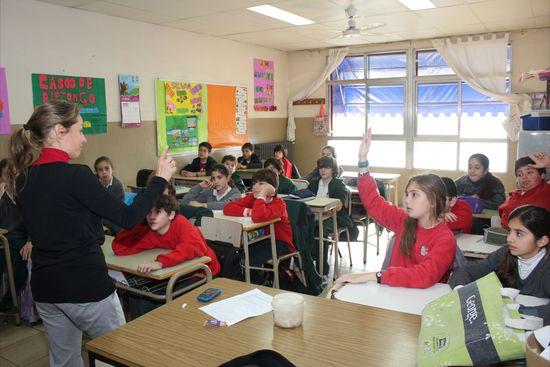 Alumnos en clase 2