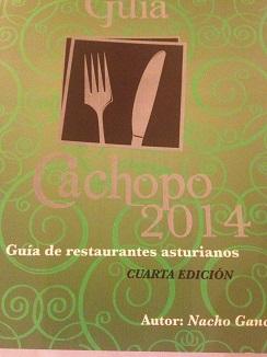 Guía del Cachopo 2014, imprescindible para los aficionados